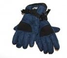 Dětské lyžařské rukavice ECHT - tm.modré