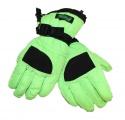Dětské lyžařské rukavice ECHT - zelené