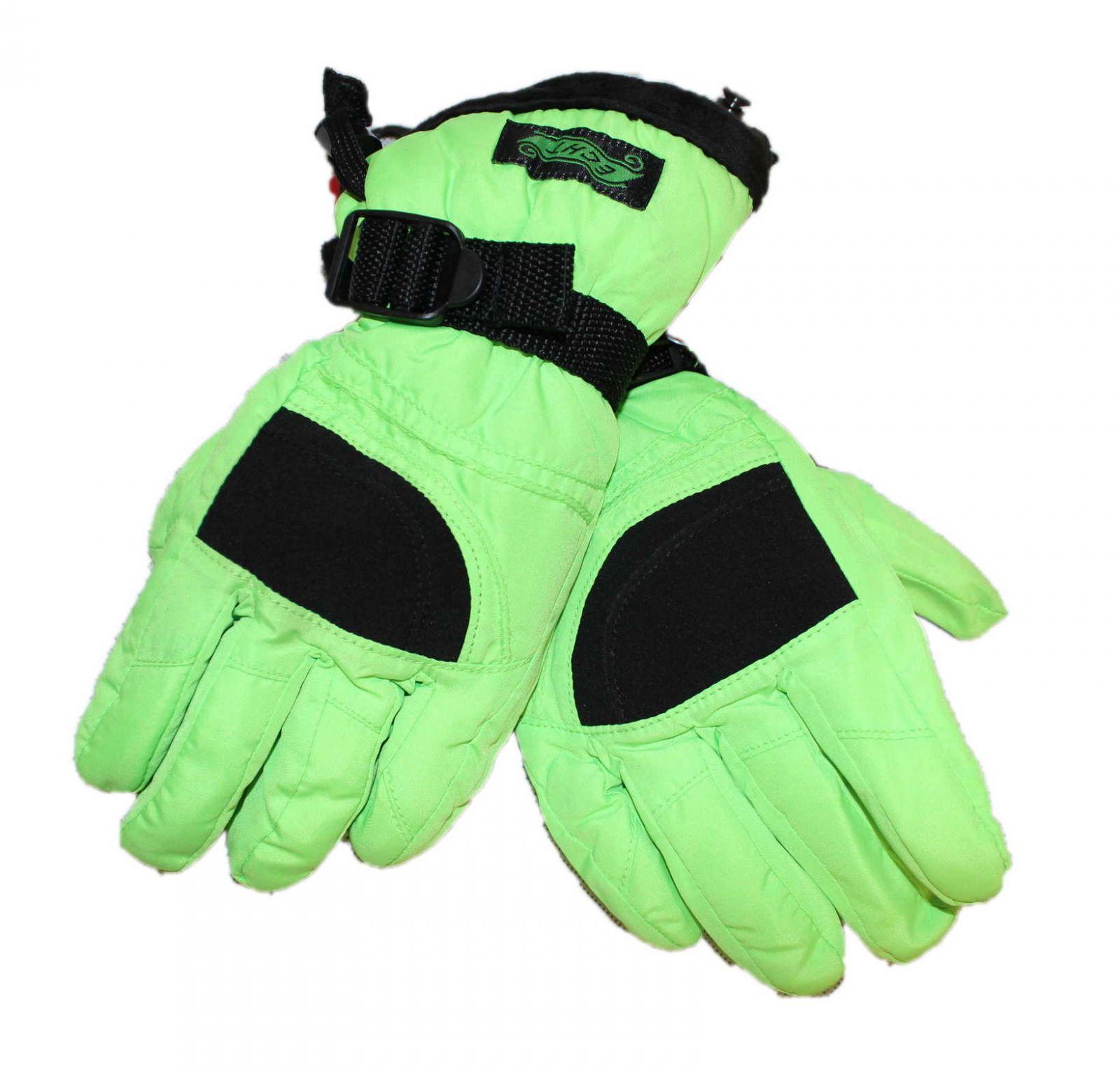 Dětské lyžařské rukavice ECHT, zimní rukavice ECHT ECHT SPORTS