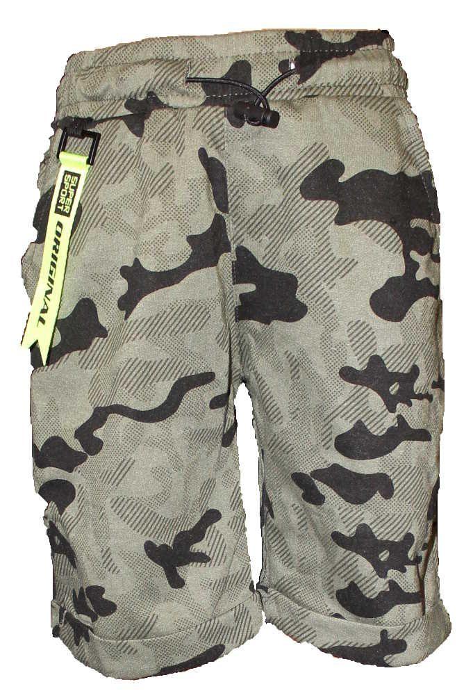 Dětské maskáčové kraťasy chlapecké army kraťasy dětské army šortky Kugo