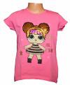 Dětské měnící tričko LOL, měnící tunika, penenka LOL, dívčí tričko s měnícím obrázkem, měnící tričko s flitry Tomurcuk