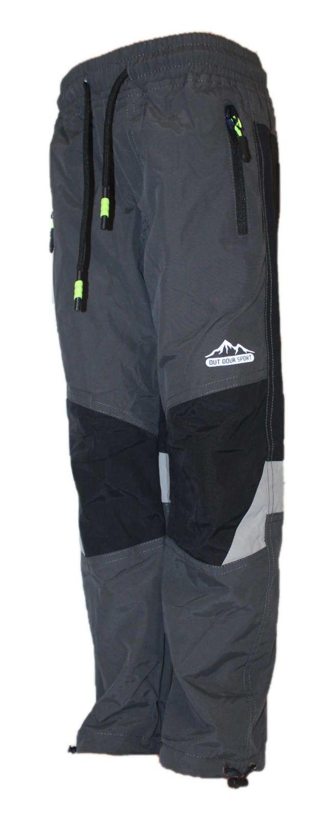 Dětské zateplené nepromokavé kalhoty zimní kalhoty zateplené kalhoty Sezon YIDI