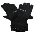 Dětské zimní, lyžařské rukavice - prstové - černé