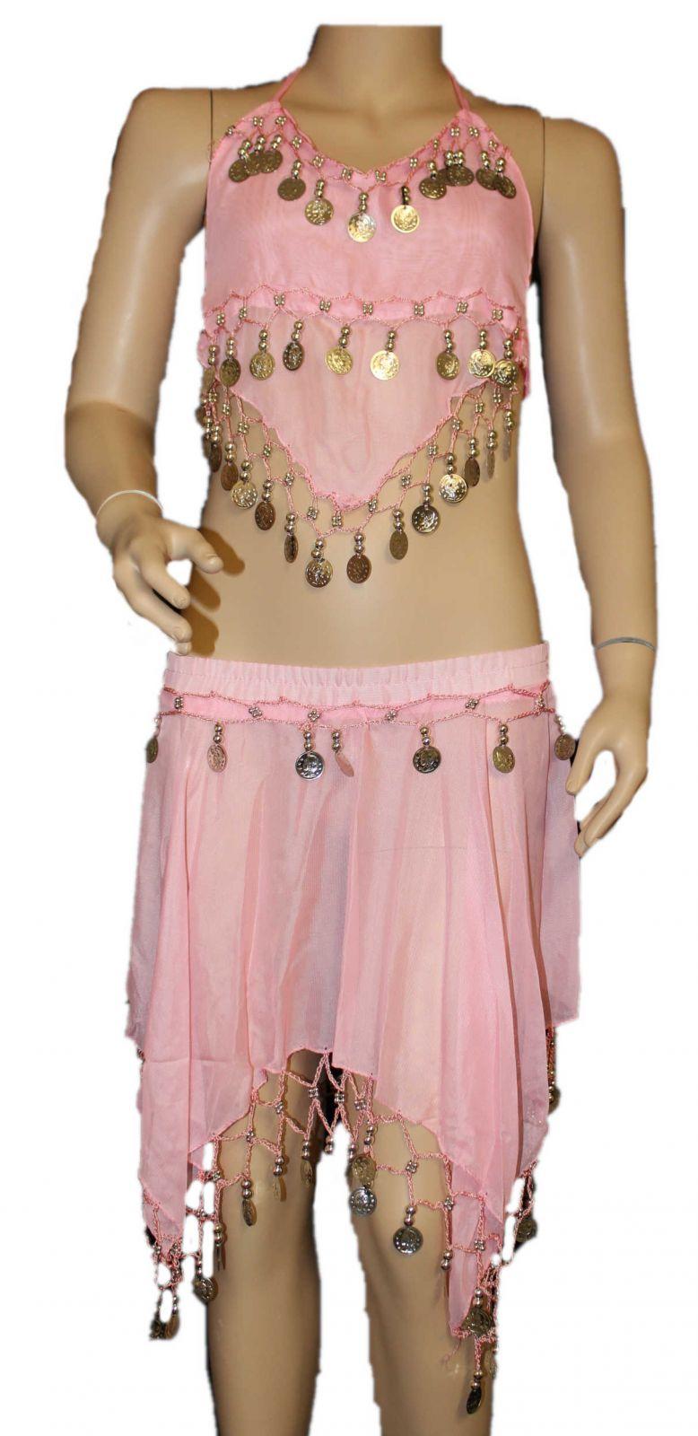 6b916423436 Dětský kostým břišní tanečnice dívčí břišní tance