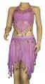 Kostým břišní tanečnice hladký - fialový