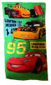 Dětský ručník CARS - zelený 2