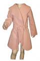 Dívčí fleesový kabát - růžový