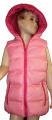 Dětská vesta - růžová