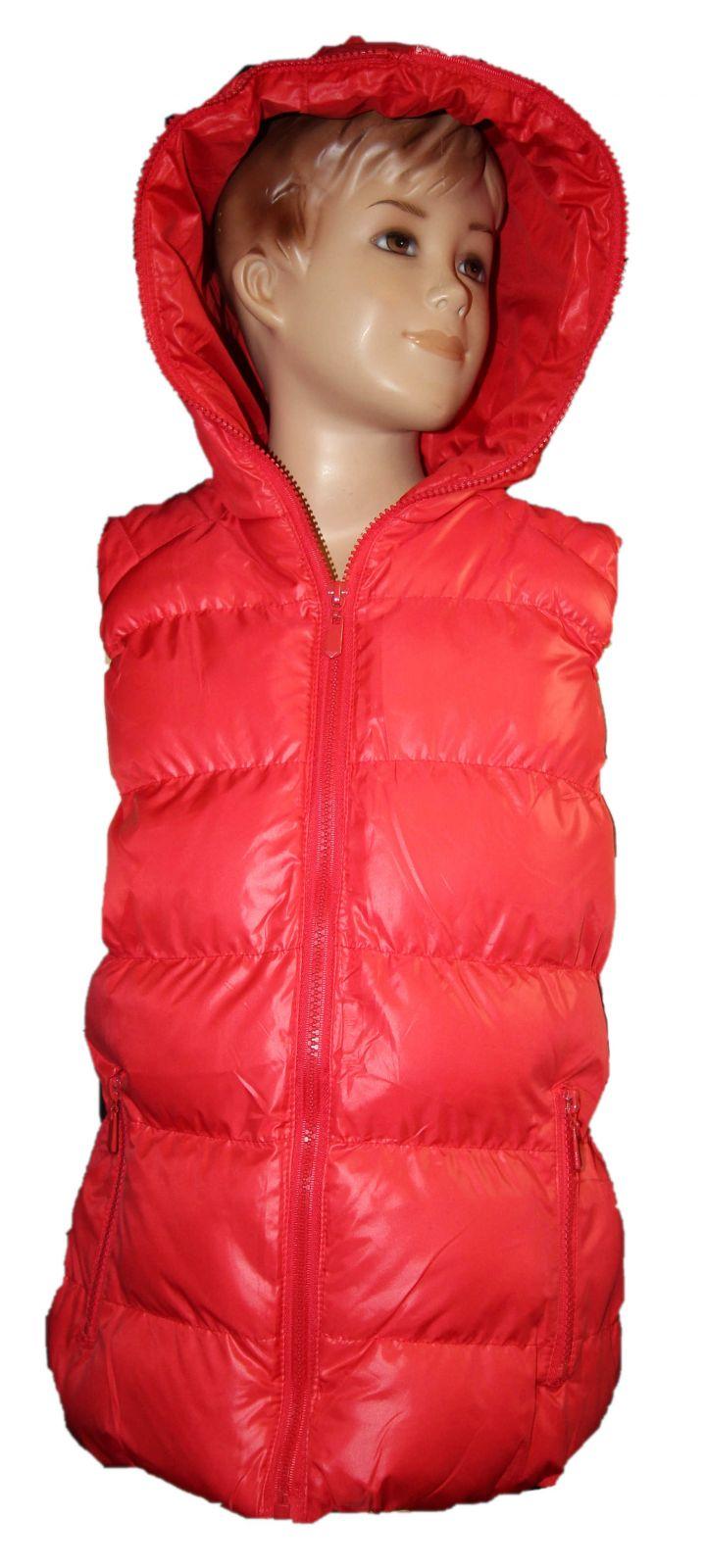 Dívčí vesta, dětská vesta, prošívaná vesta SEAGULL