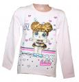 Měnící tričko, tunika dl.rukáv - LOL - sv.růžové