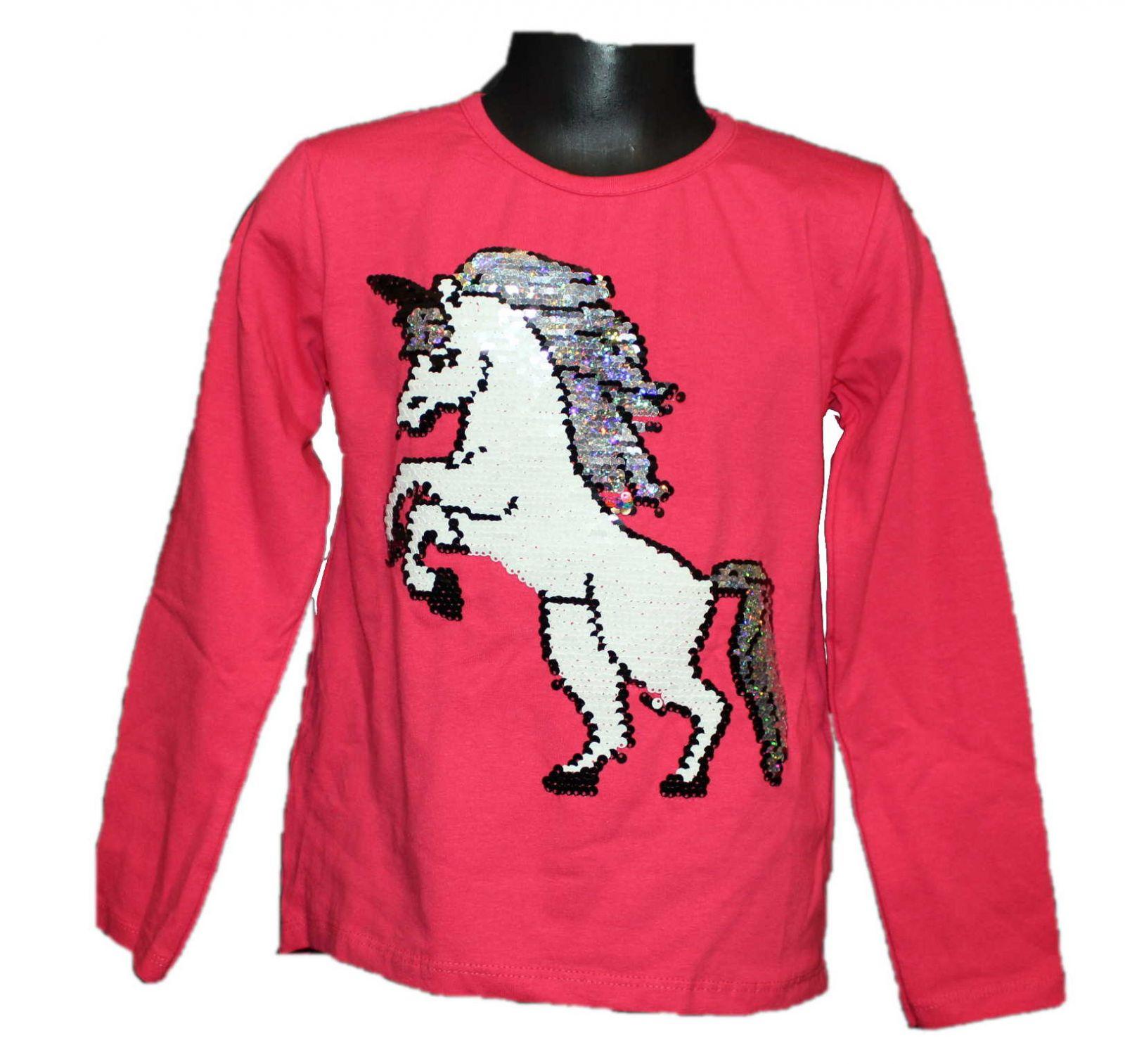 měnící tričko, přeměňovací tričko s koněm, měnící tričko s Unikorn Tomurcuk