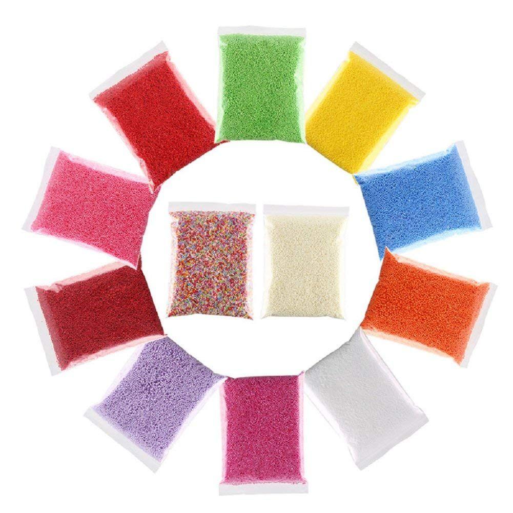 Mini kuličky na vyrábění slizu kuličky do slizu mikrokuličky do slizů polystyrenové kuličky do slizu