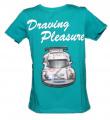 Blikací tričko s autem - zelené