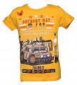 Blikající tričko s tankem - žluté