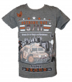 Blikající tričko s tankem - šedé