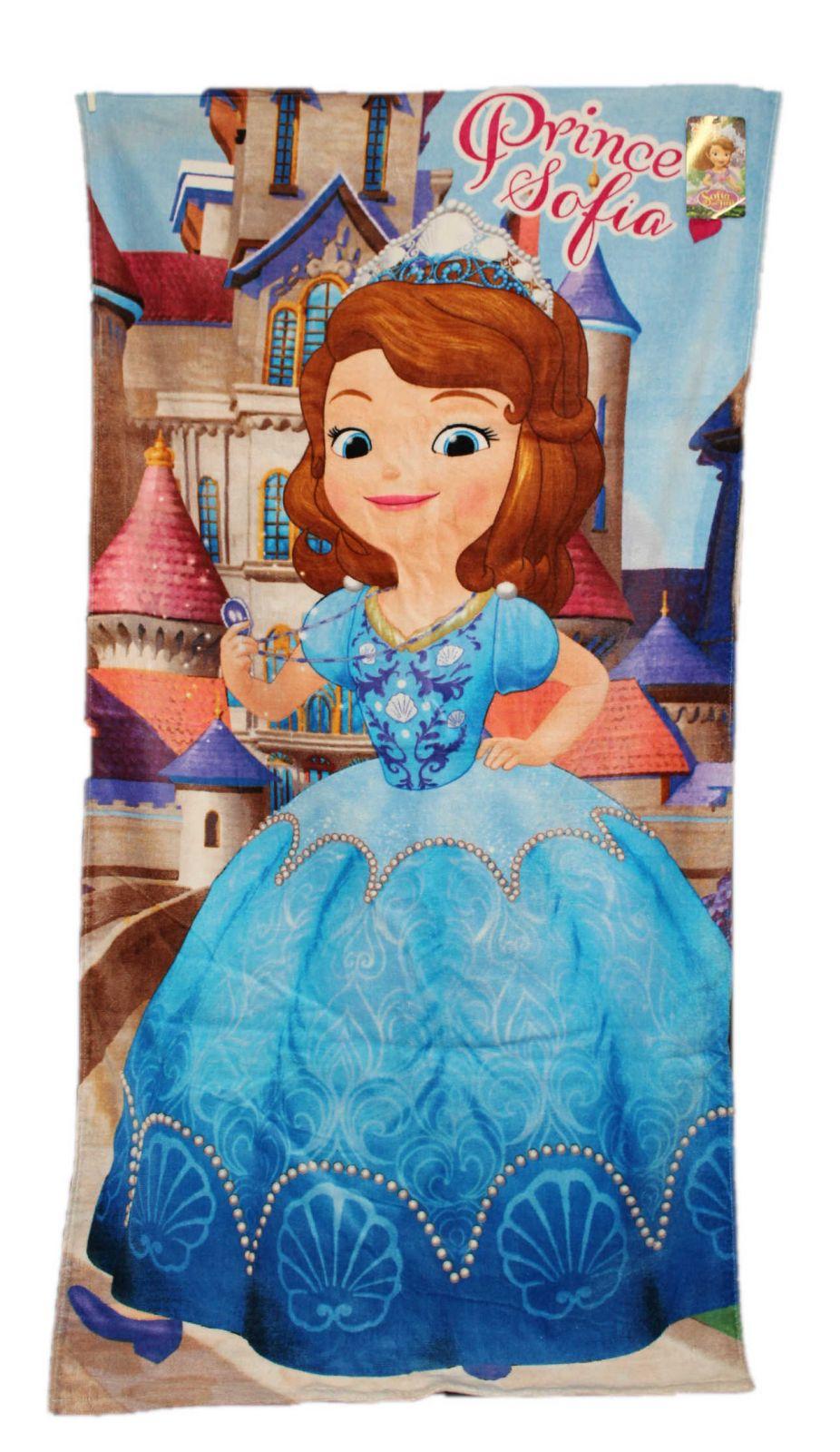 Velká osuška Sofia dětská osuška se Sofií Disney
