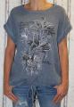 Dámské triko/tunika - modrá