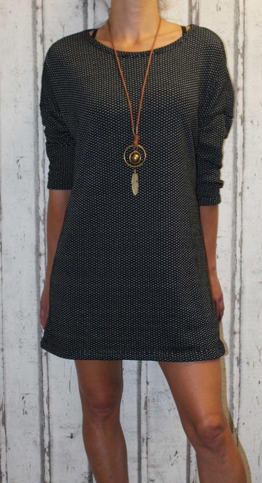 Dámské šaty,dámská tunika, pohodlné šaty, volné šaty Italy Moda