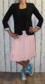 Dámská tylová sukně - růžová