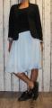 Dámská tylová sukně - tyrkysová