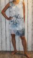 Dámské letní šaty dámské šaty volného střihu letní šaty vzdušné šaty