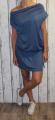 Dámské sportovní šaty šaty spadlá ramena šaty volný styl