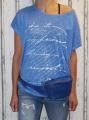Dámské tričko volný střih dámská tunika