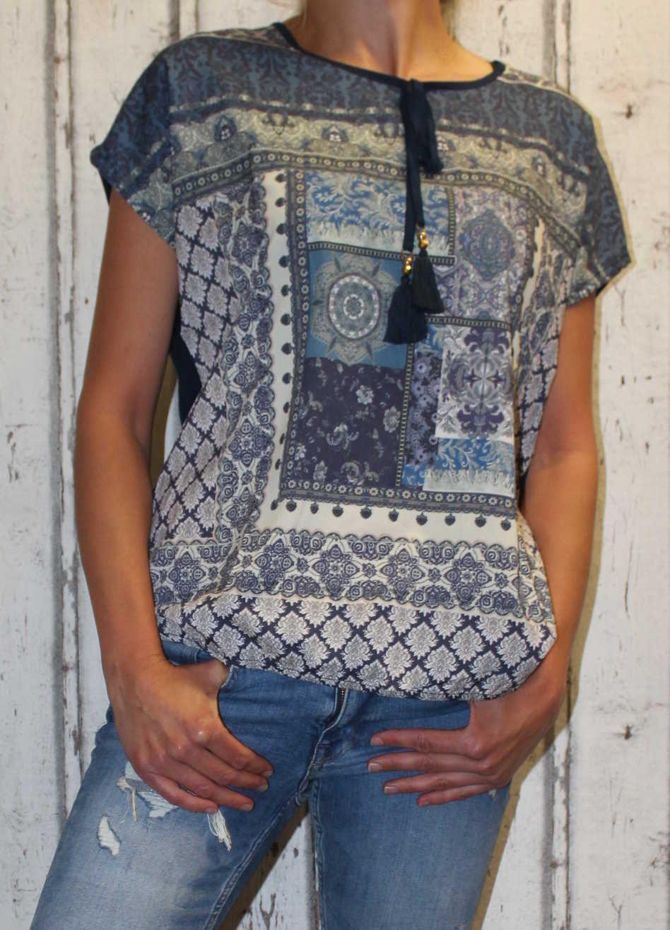 Dámské tričko volný střih dámská tunika dámská halenka dámská košile