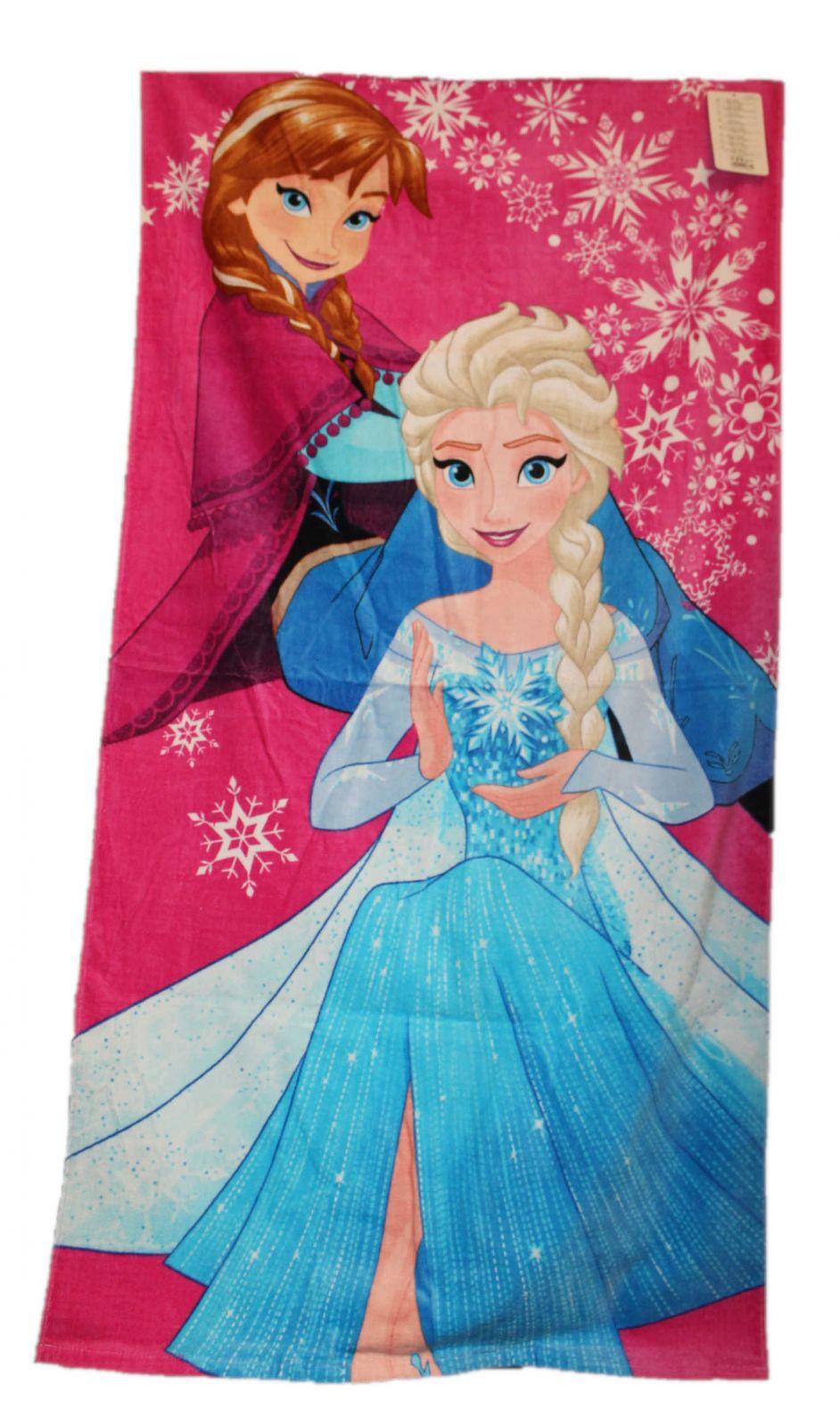 Dětská velká osuška FROZEN dívčí licenční osuška Disney