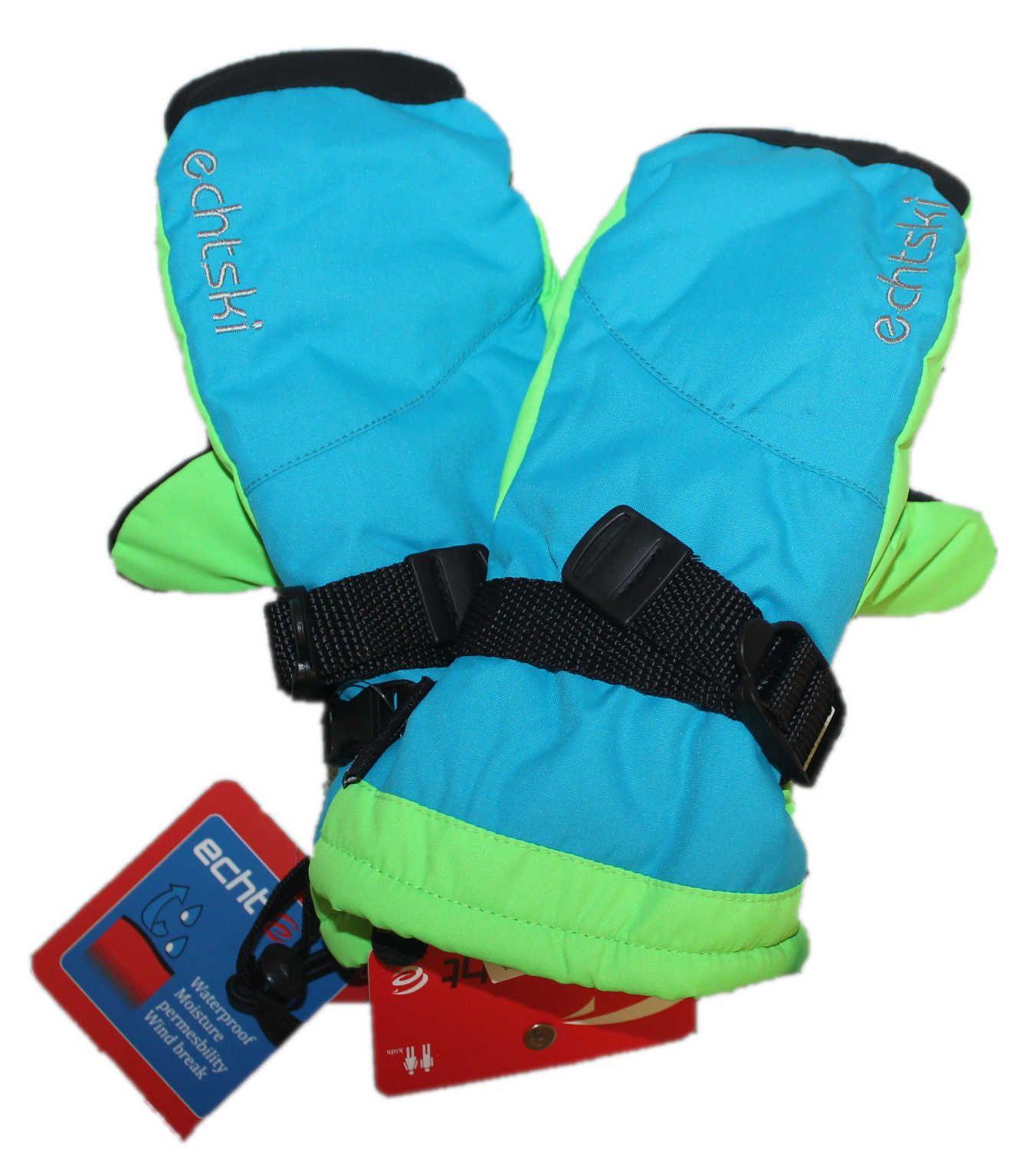 Dětské zimní lyžařské rukavice, dětské palčáky zimní rukavice, dětské rukavice, palčáky rukavice, lyžařské rukavice ECHT SPORTS