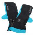 Dětské zimní rukavice, lyžařské rukavice - palčáky VELKÉ - černo-modré