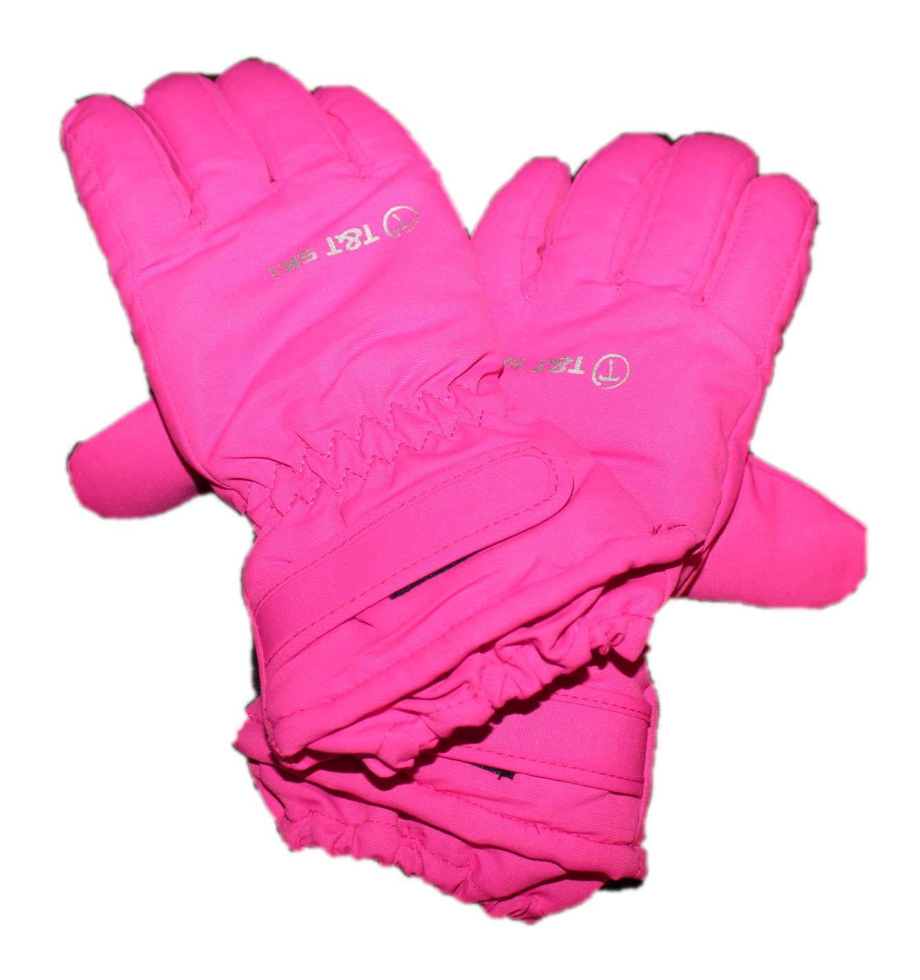 Dětské zimní lyžařské rukavice, lyžařské prstové rukavice T&T SKI