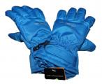 Dětské zimní, lyžařské rukavice - prstové - sv.modré
