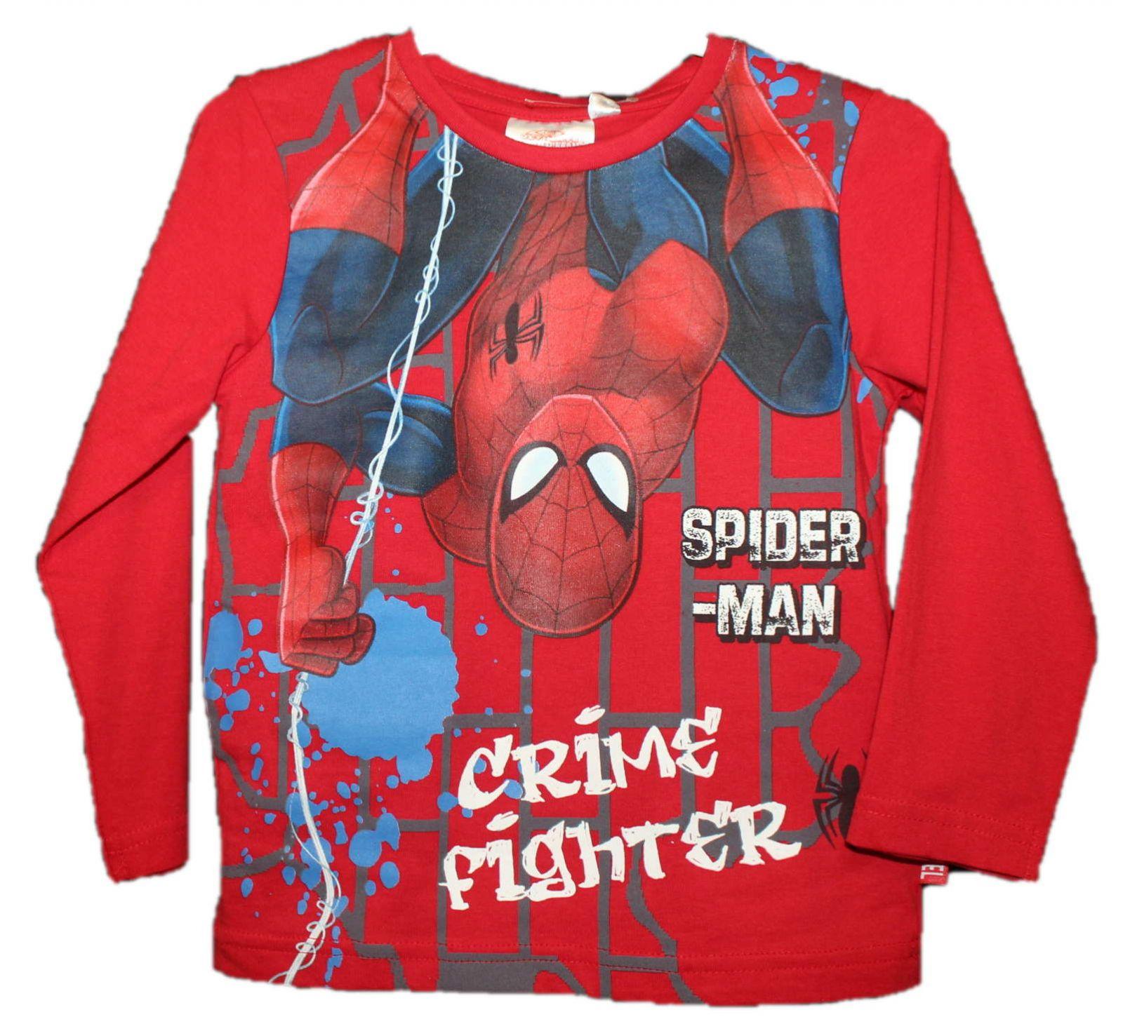Triko dlouhý rukáv SPIDERMAN chlapecké triko spiderman Marvel