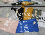 Dámské bavlněné tričko krátký rukáv dámské dlouhé tričko be nice tričko s rozparky Italy Moda