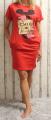 Dámské letní šaty, plážové šaty, dámská tunika, pohodlné šaty dámské šaty Minnie Italy Moda