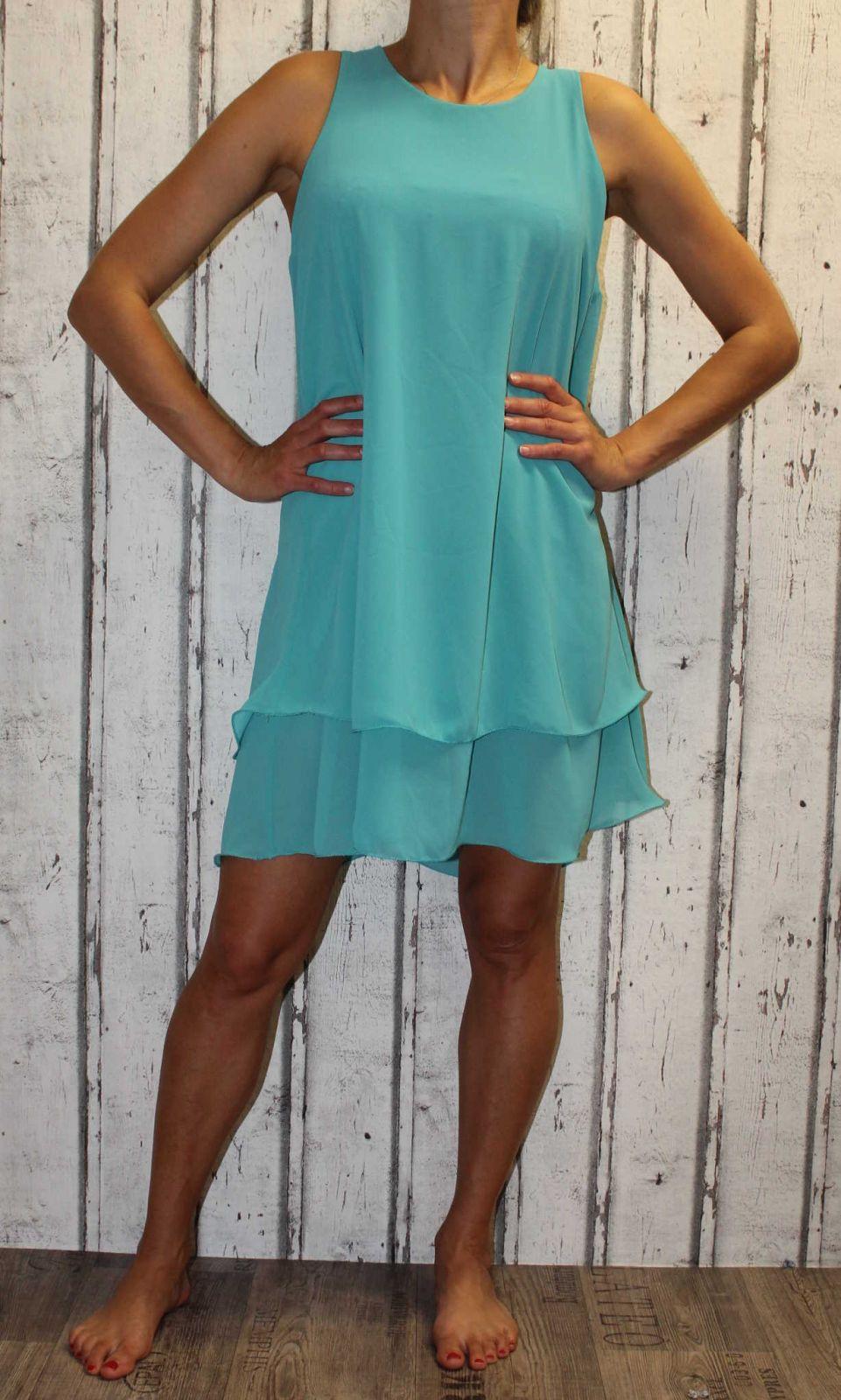 Dámské letní šaty, dámské tylové šaty, šaty volný střih, vzdušné šaty