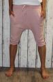 Dámské 3/4 kalhoty se spadlým sedem Baggy - staro-růžové