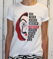 Dámské tričko La Casa De Papel, tričko papírový dům, tričko Money Heist