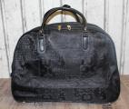 Dámská cestovní taška na kolečkách - černá 2