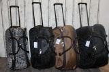 dámská cestovní taška na kolečkách, dámská velká kabela na kolečkách, dámský kufr na kolečkách