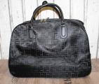 Dámská cestovní taška na kolečkách - černá
