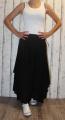 Dámská dlouhá bavlněná sukně - černá