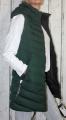 Dámská  dlouhá vesta - zelená