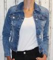 Dámská džínová bunda - modrá