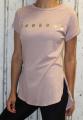 Dámské dlouhé tričko weekend - staro-růžové