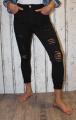 Elastické džíny - slimky - černé