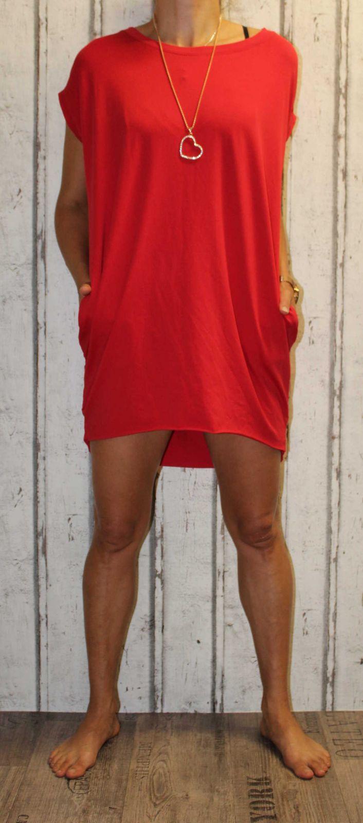 Dámské letní šaty, plážové šaty, dámská tunika, pohodlné šaty Italy Moda