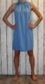 Dámské šaty bez rukávů, letní šaty, dámské šaty volný střih Italy Moda