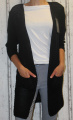 Dámský dlouhý letní kardigan dámský dlouhý svetr Italy Moda